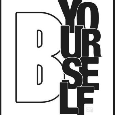 Be Yourself | Poster | Vertical