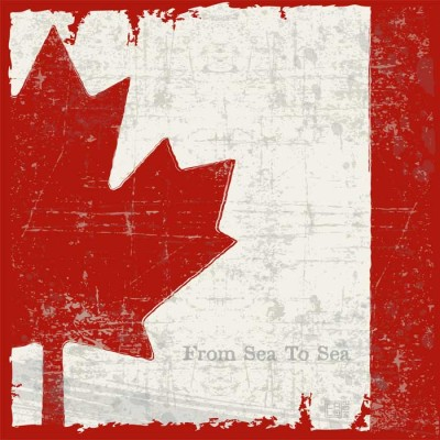 Flag Of Canada | Poster | Square