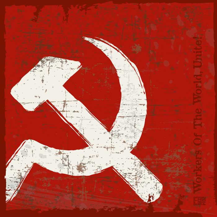 Flag Of The Soviet Union | Poster | Square