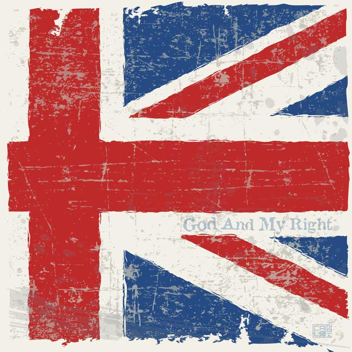Flag Of The United Kingdom | Poster | Square