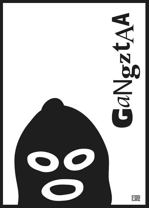 Gangztaa Gangster | Poster | Vertical
