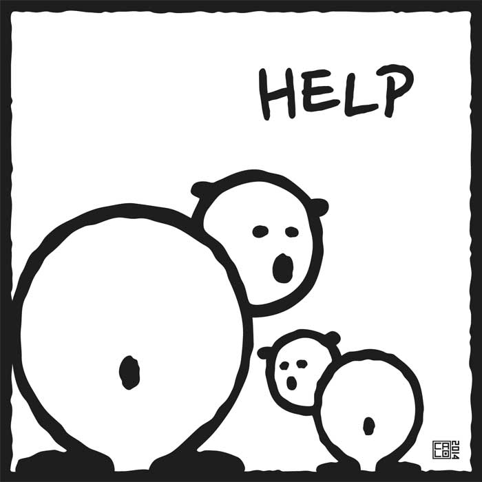 Help | Poster | Square
