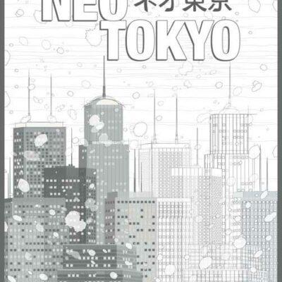 Neo Tokyo | Akira | Poster | Vertical
