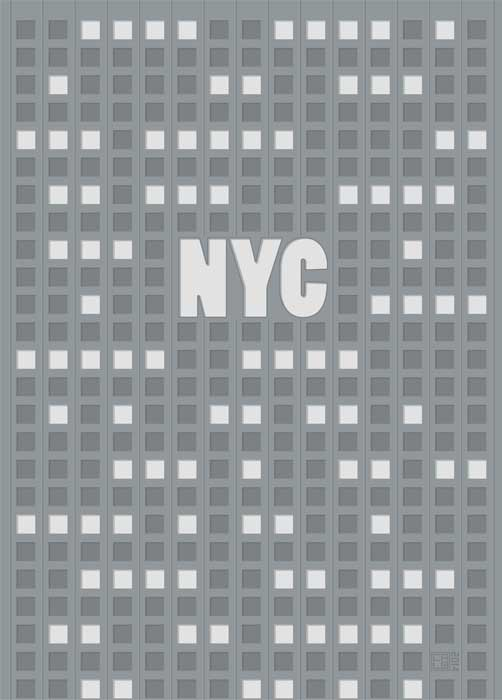 NYC New York City | Poster | Vertical