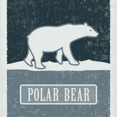 Polar Bear - Endangered | Poster | Vertical