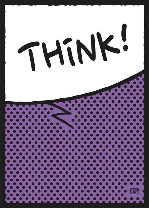 Think ! | Poster | Vertical