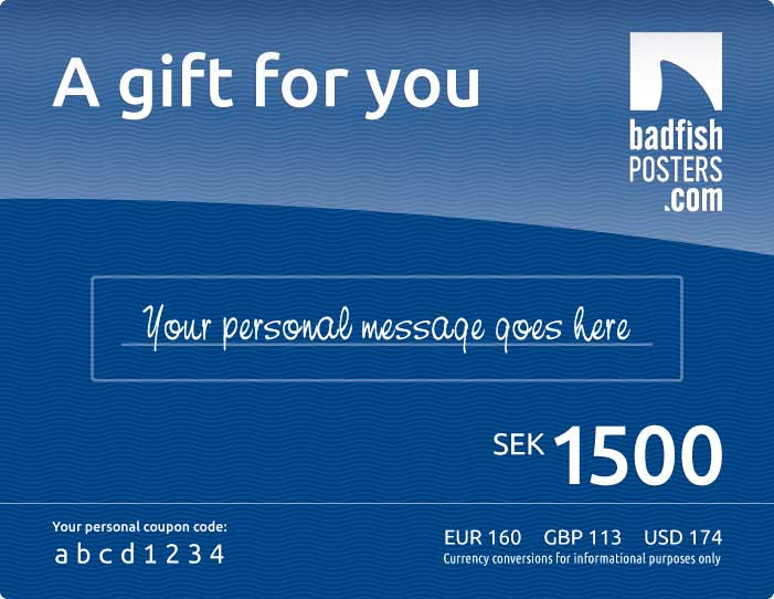Gift Card Personal Message Maxi