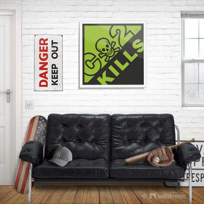 CO2 Kills | Poster | Showroom