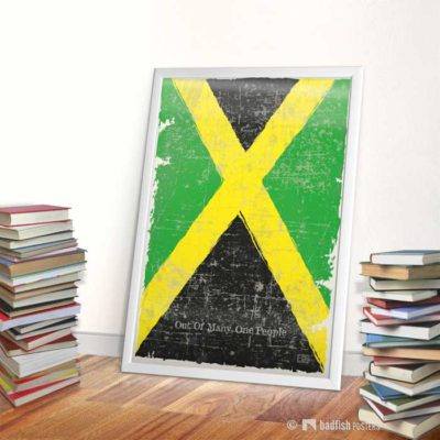 Flag Of Jamaica | Poster | Showroom