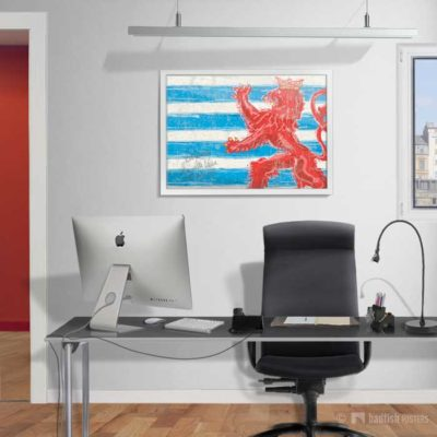 Flag Of Luxembourg | Poster | Showroom