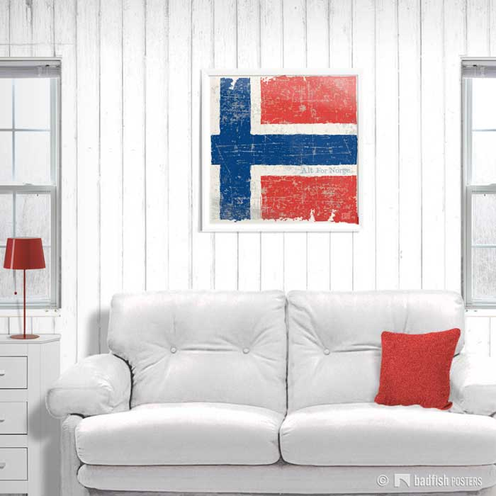 Flag Of Norway | Poster | Showroom