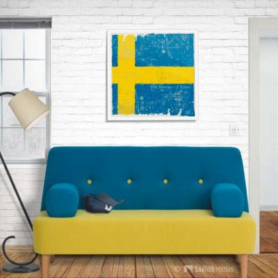 Flag Of Sweden | Poster | Showroom