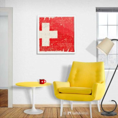 Flag Of Switzerland | Poster | Showroom