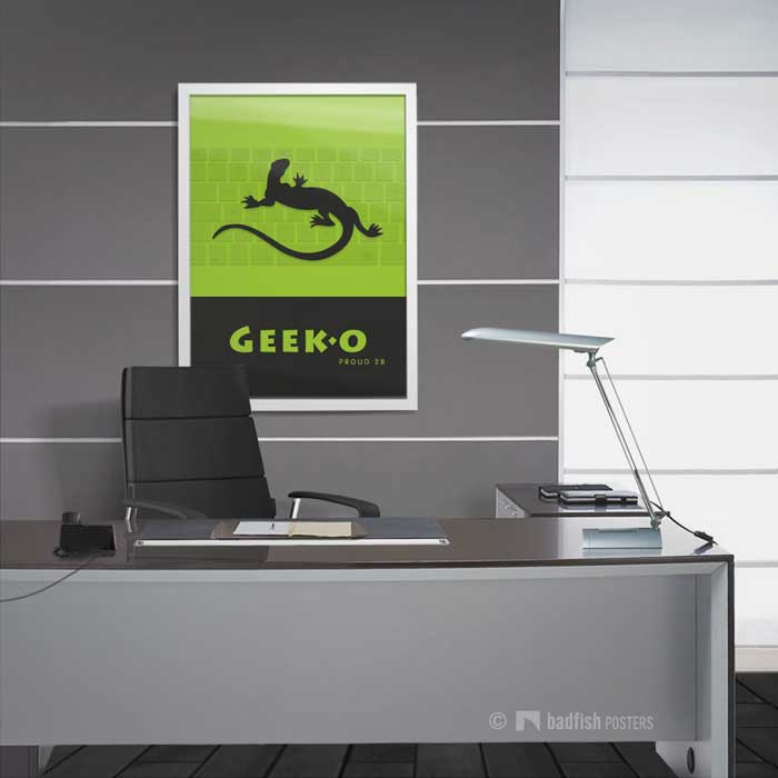 Geeko Geek | Poster | Showroom