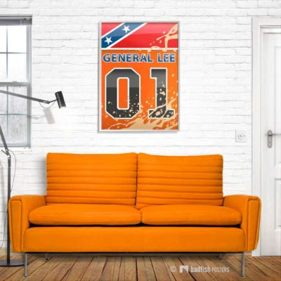 General Lee | Dukes of Hazzard | Poster | Showroom