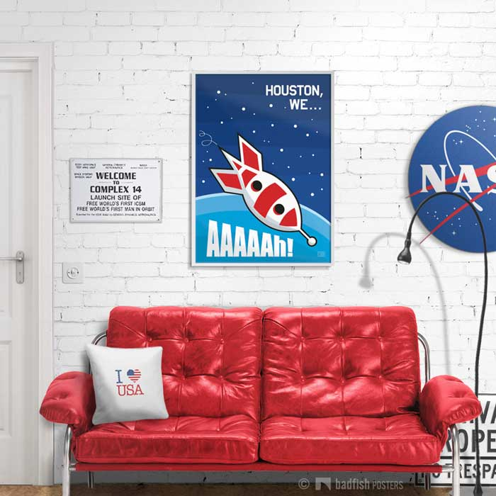 Houston, We … Aaaaah ! | Apollo 13 | Poster | Showroom