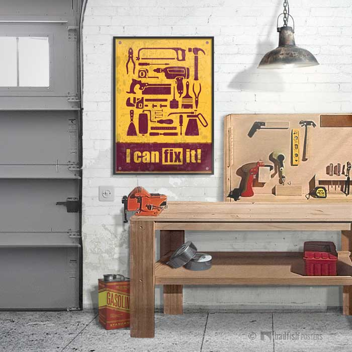 I Can Fix It ! | Poster | Showroom