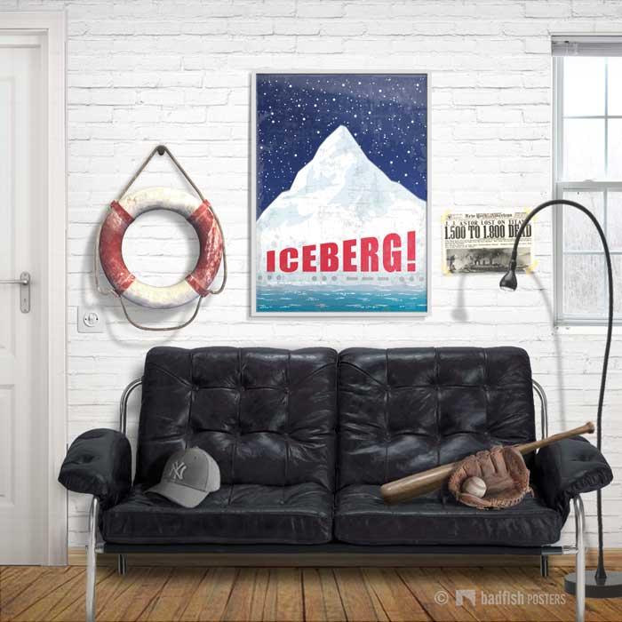 Iceberg ! | Titanic | Poster | Showroom