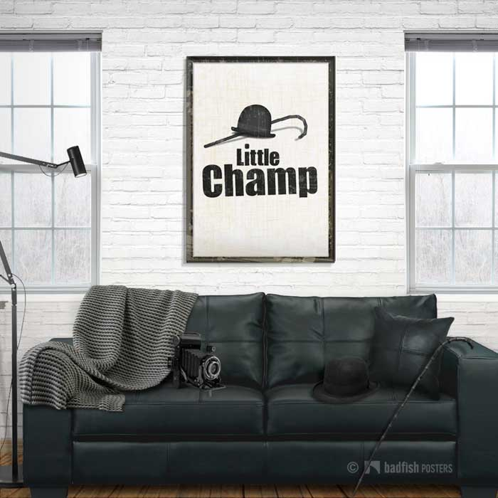 Little Champ | Charlie Chaplin | Poster | Showroom