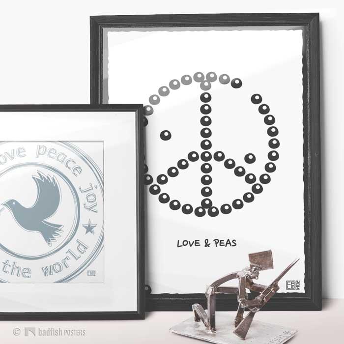 Love & Peas | Poster | Showroom
