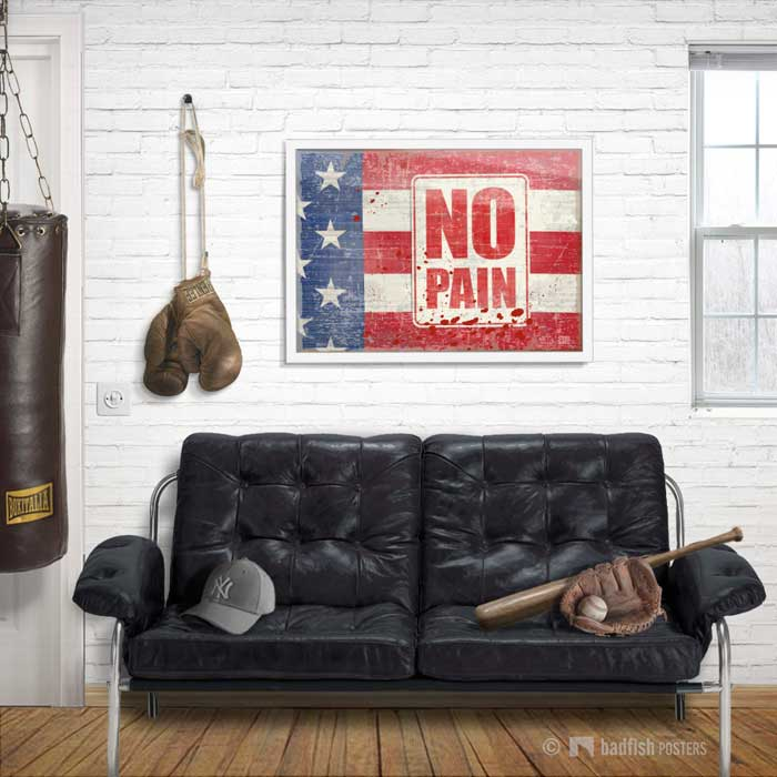 No Pain | Rocky | Poster | Showroom