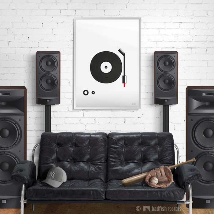 Spin That Vinyl | Poster | Showroom