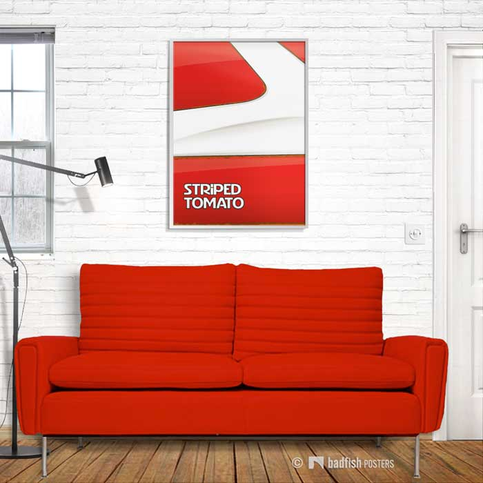Striped Tomato | Starsky and Hutch | Poster | Showroom