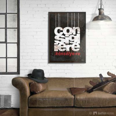 The Consigliere | The Godfather | Poster | Showroom
