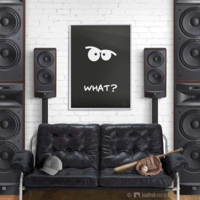 What ? | Poster | Showroom