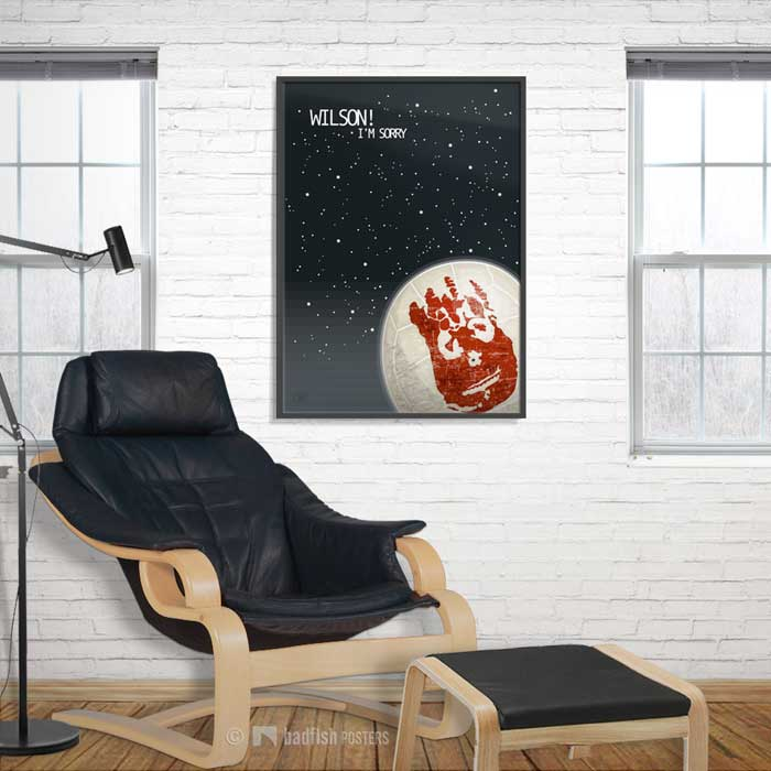 Wilson ! | Cast Away | Poster | Showroom