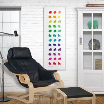 Rainbow Elephants | Poster | Showroom