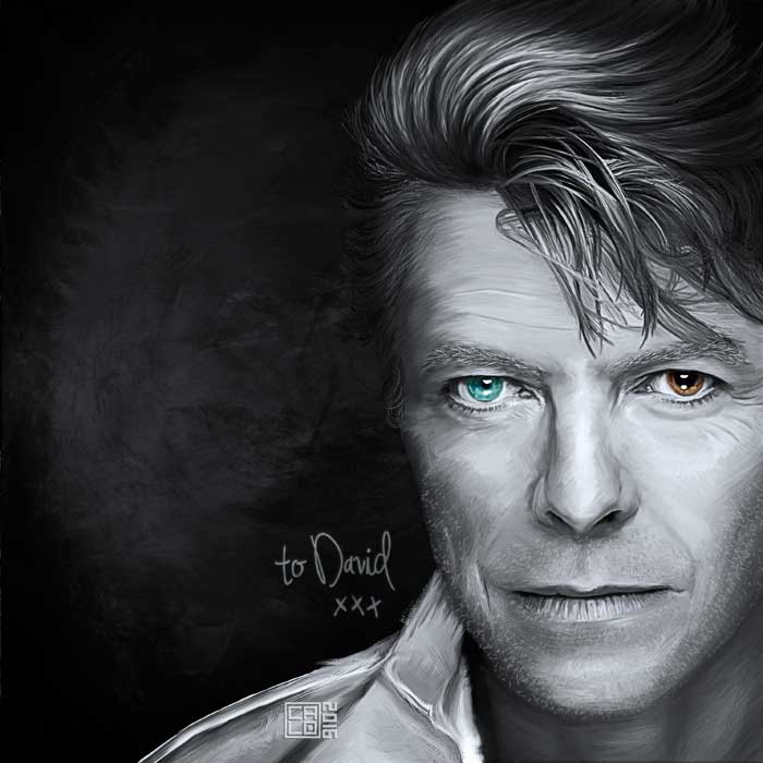 Tribute To David Bowie | Poster | Square