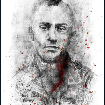 Travis Bickle | Taxi Driver | Poster | Vertical
