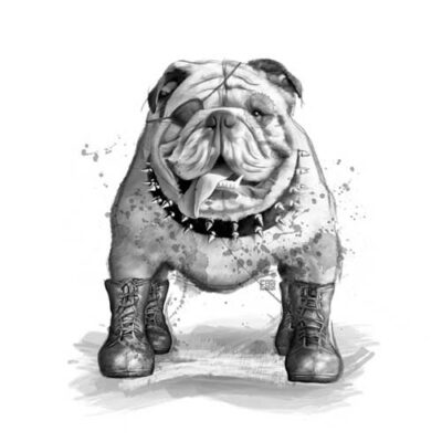 English Bulldog | Poster | Vertical