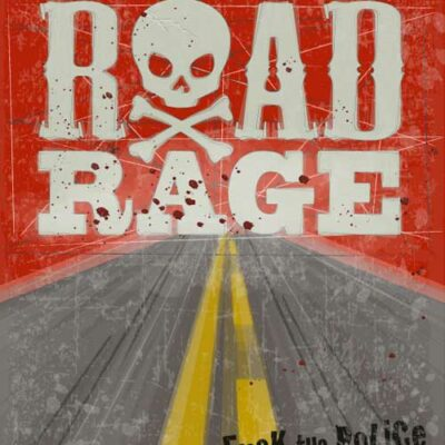 Road Rage | Mad Max | Poster | Vertical