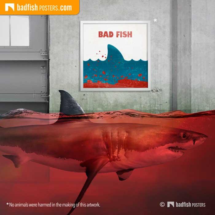 Jaws aka Bad Fish | Poster Blog
