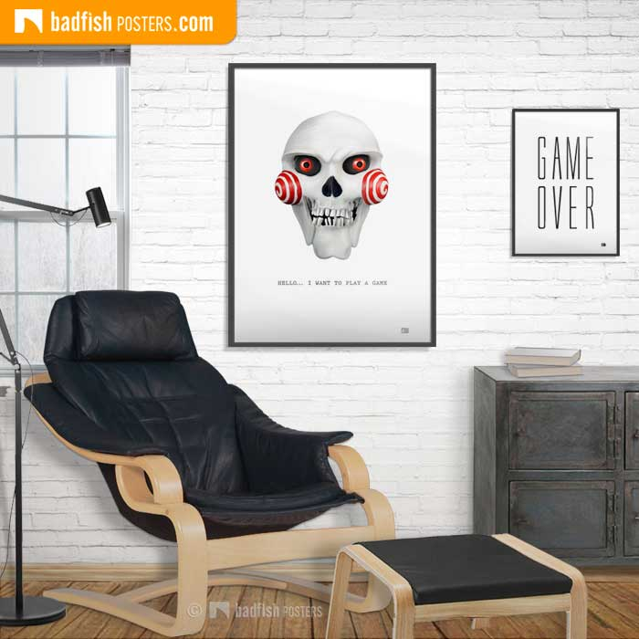 Saw | Billy The Puppet | Poster Blog