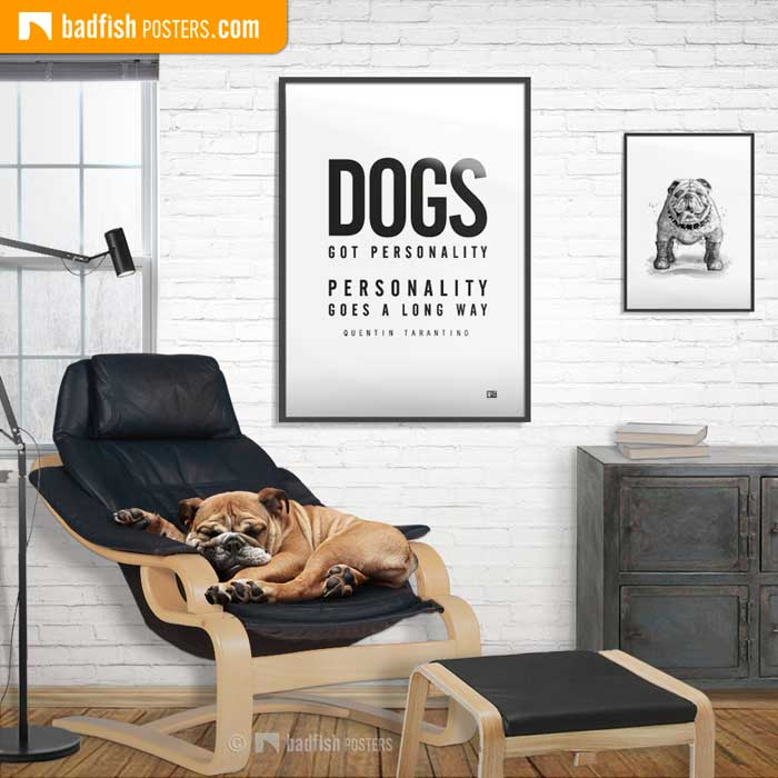 Dogs Got Personality | Poster Blog
