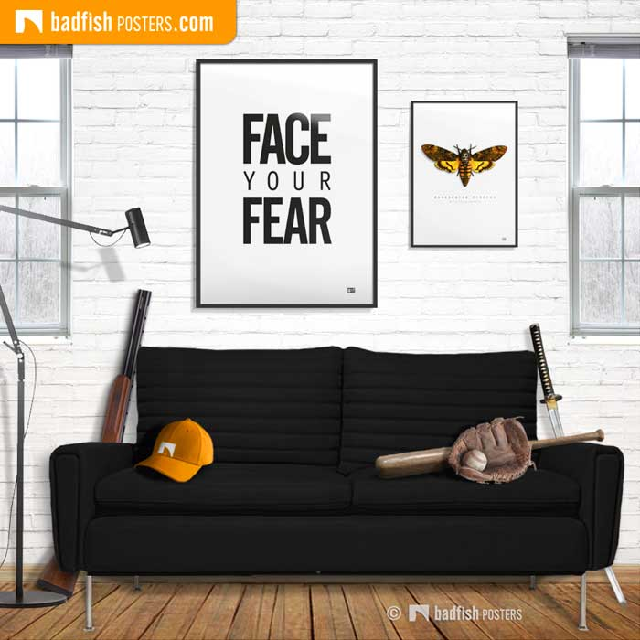 Face Your Fear | Everyone is afraid… | Poster Blog