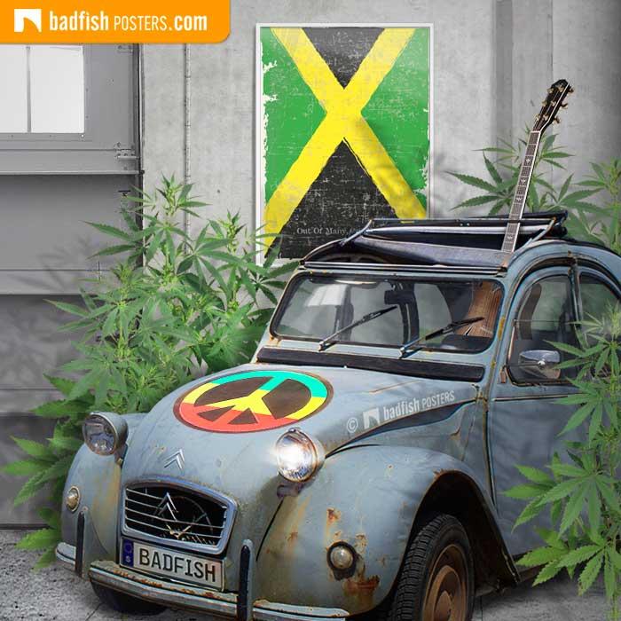 Happy B-day Jamaica ! | Poster Blog