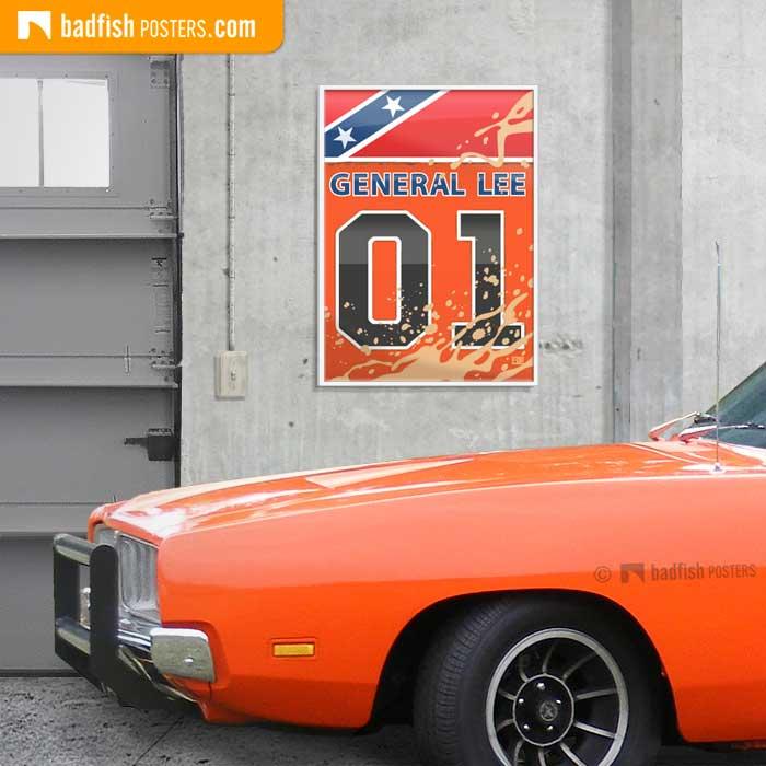 General Lee | Dukes Of Hazzard | Poster Blog