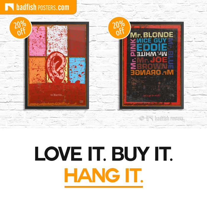 Reservoir Dogs ON SALE   Love it. Buy it. Hang it.   Poster Blog