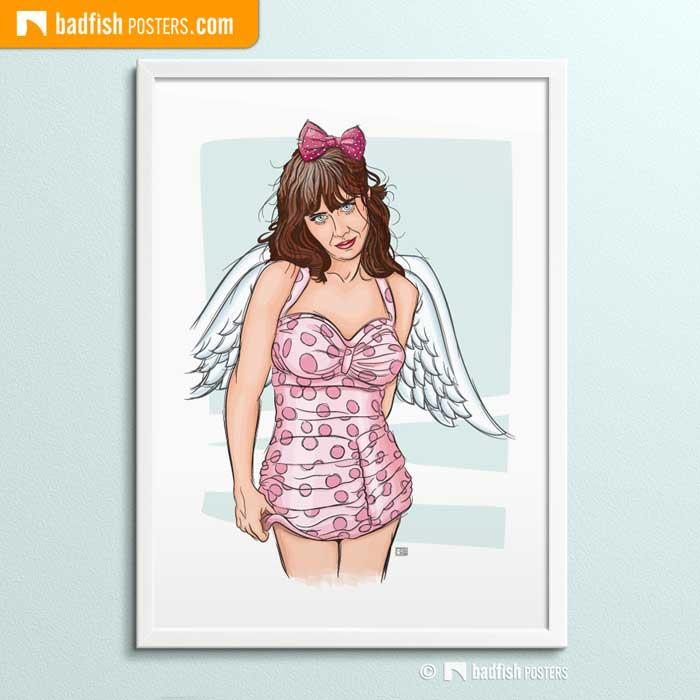 Zooey Deschanel | Heavenly Creature | Poster Blog