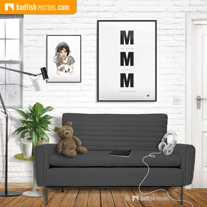 M for Mathilda   Leon: The Professional   Poster Blog