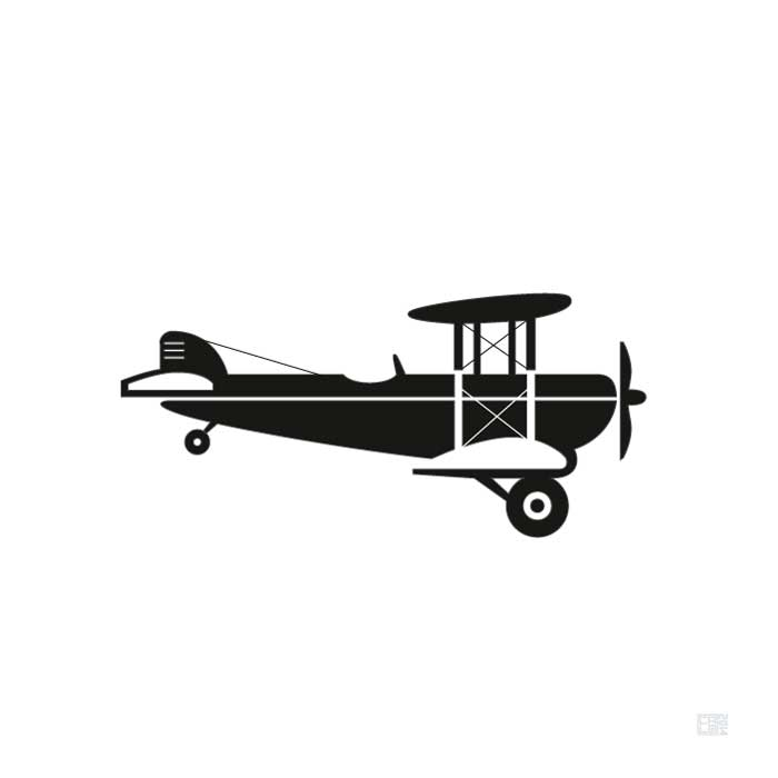 Crop Duster | North by Northwest | Poster | Square