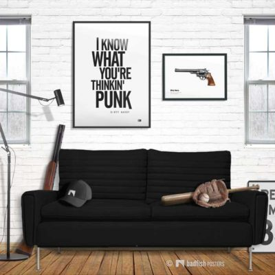 Punk | Dirty Harry | Poster | Showroom