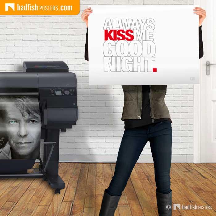 Always Kiss Me Goodnight | Poster Blog