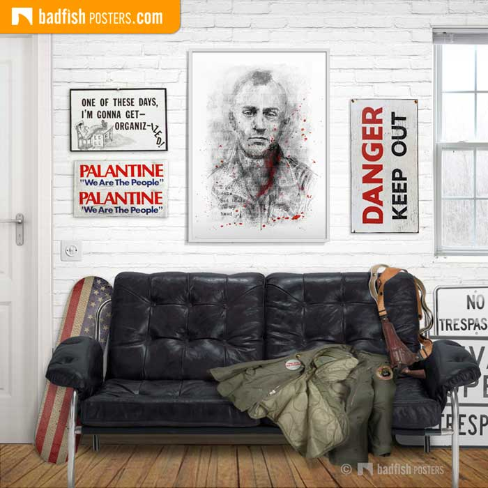 Travis Bickle | Taxi Driver | Poster Blog