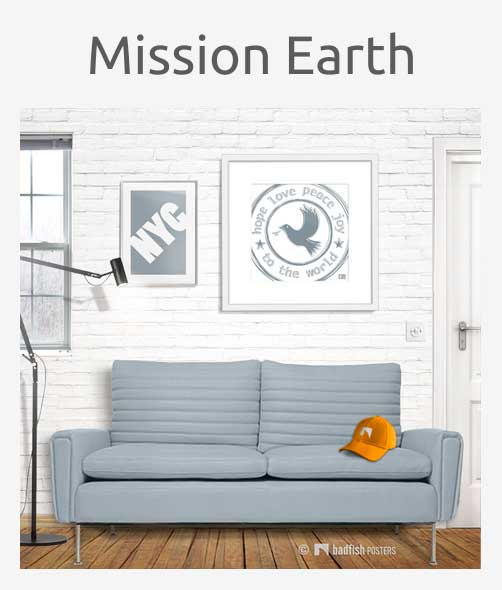 Mission Earth Posters