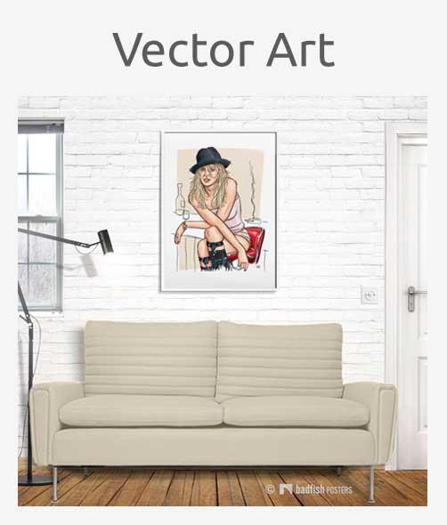 Vector Art Posters
